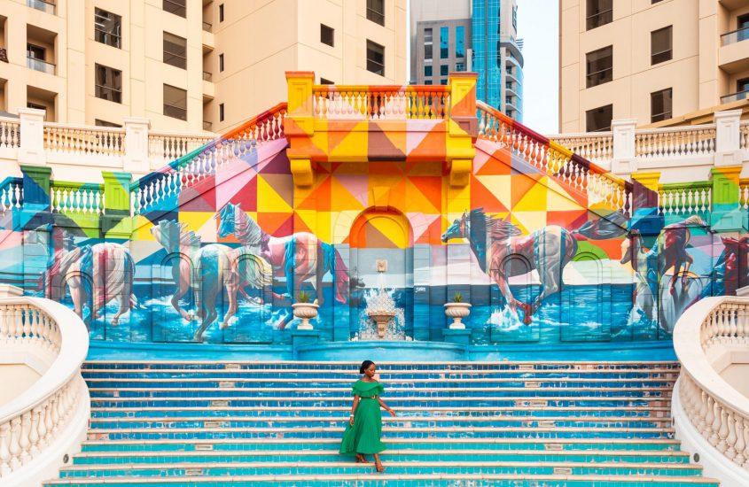 street art at JBR – My pick of the instagram-worthy spots