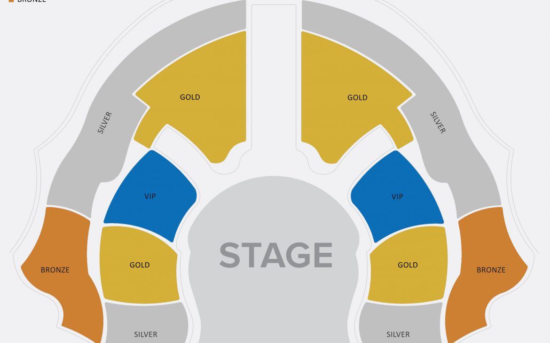 La Perle seating plan