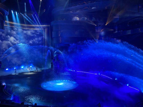 La Perle Dubai stage