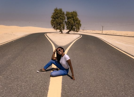 Ashleighrm at Al Qudra Cycling track